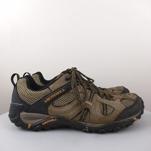 Merrell Walnut Hiking Shoe Size 10